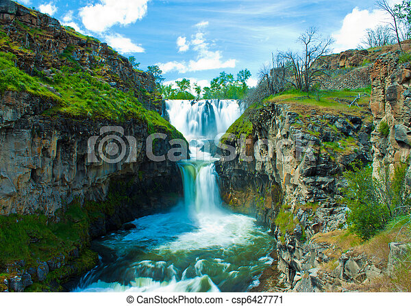 White River Falls - csp6427771