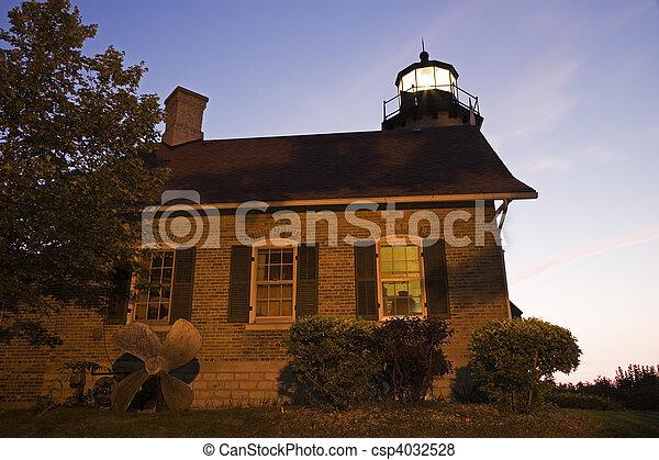 White River Lighthouse - csp4032528