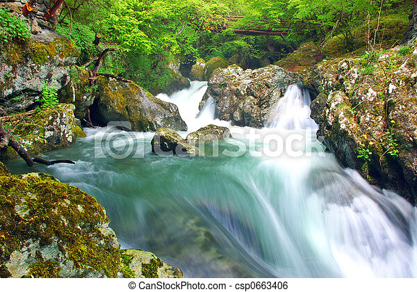 White River - csp0663406