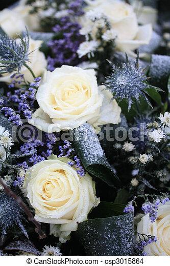 White rose flower arrangement a flower arrangement in the snow white rose flower arrangement csp3015864 mightylinksfo