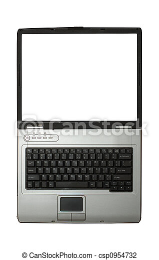 white screen - csp0954732