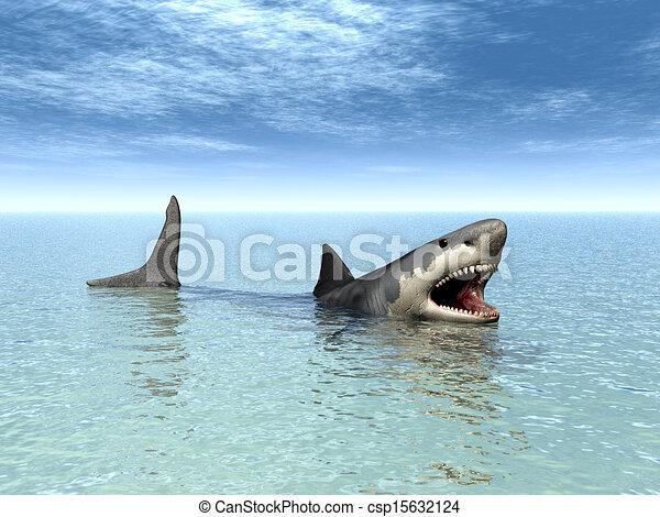 White Shark - csp15632124