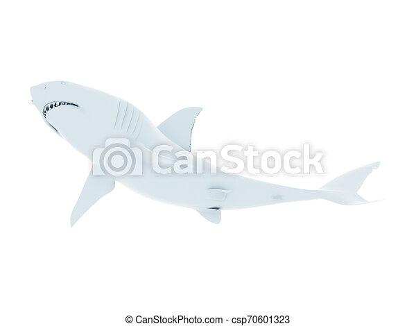 white shark - csp70601323
