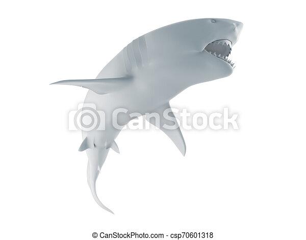 white shark - csp70601318