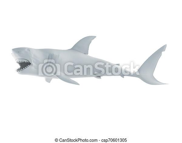 white shark - csp70601305
