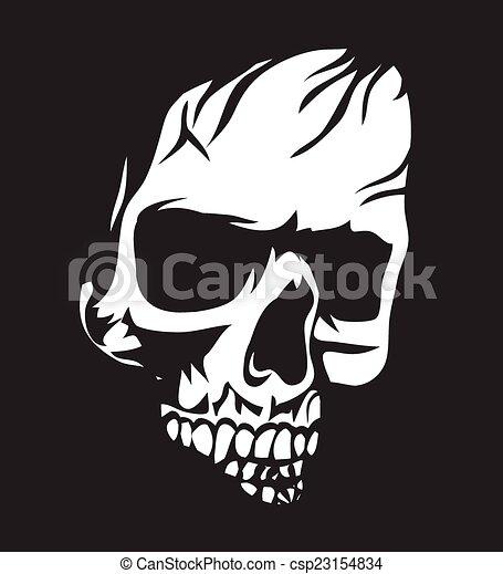 White skull csp23154834