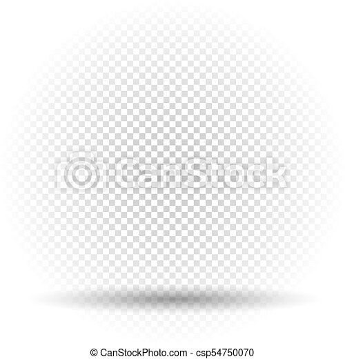 white transparent template with shadow white transparent template