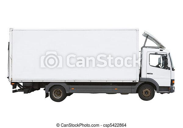 White Truck - csp5422864