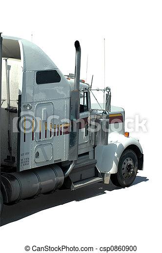 White Truck - csp0860900