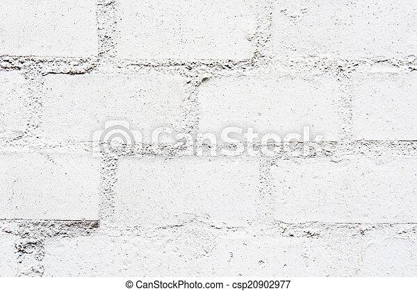 White wall - csp20902977