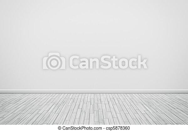 white wall - csp5878360