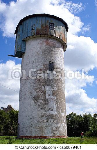 White water tower - csp0879401