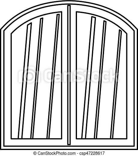Window Pane Clip Art Open Window Frame Clipart With