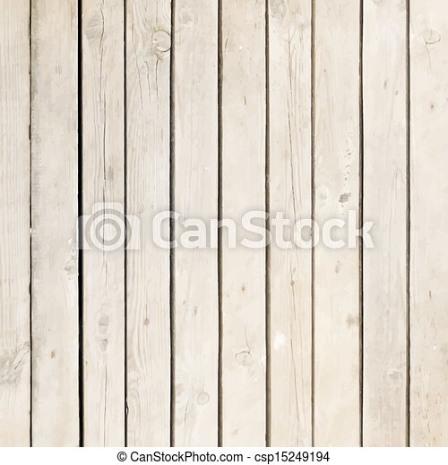 White wood board vector background - csp15249194