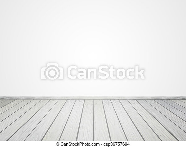 white wood floor background. White Wood Floor On Background - Csp36757694 G