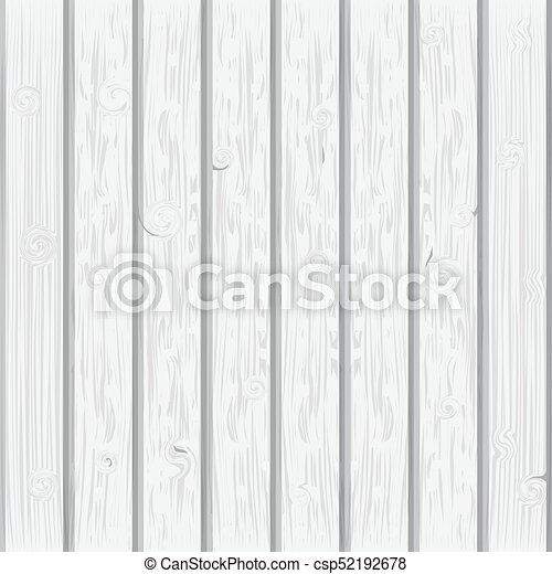 White Wood Plank Texture Background   Csp52192678