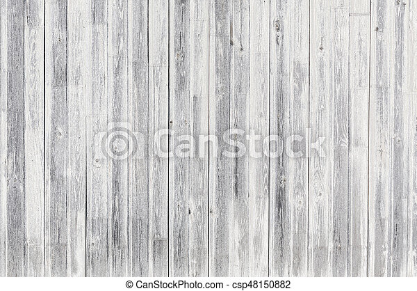 White Wood Texture Or Background