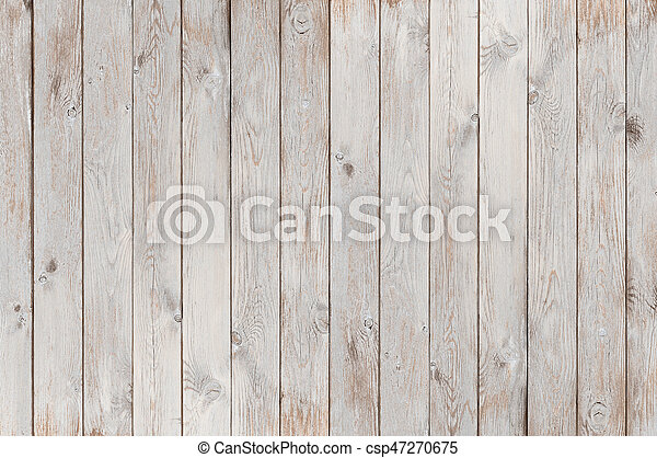 White Wood Texture Vintage Old Background Or