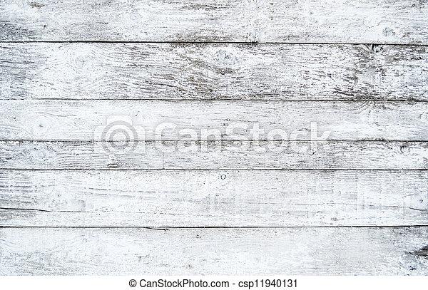 White wood texture - csp11940131