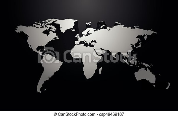White world map blank vector with 3d shadow white world map blank vector with 3d shadow gumiabroncs Images
