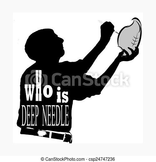Deep throat football