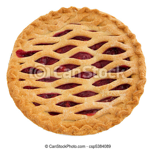 whole cherry pie - csp5384089