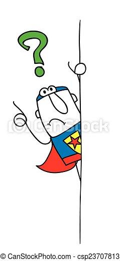 Why superhero - csp23707813