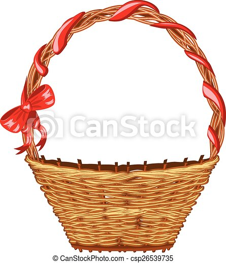 Wicker Basket - csp26539735
