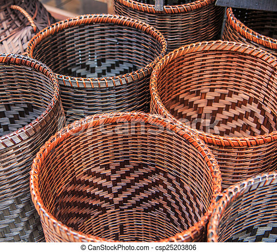 what is wicker made of