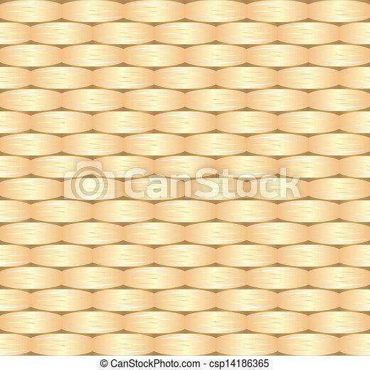 wicker pattern - csp14186365