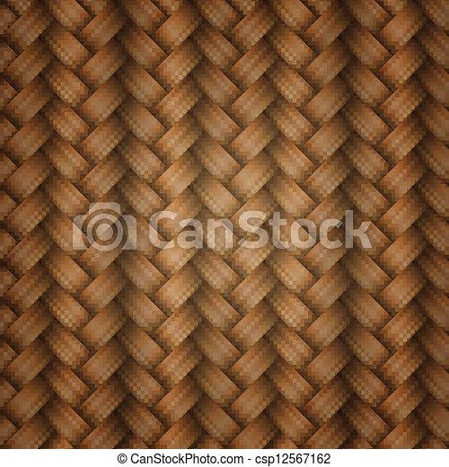 wicker, tiling, textuur - csp12567162