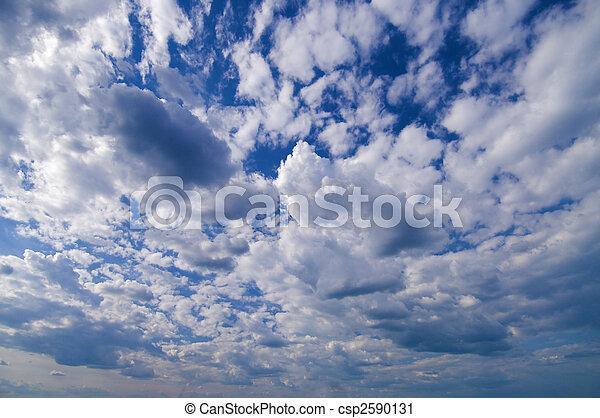 wide angle blue sky with daylight background