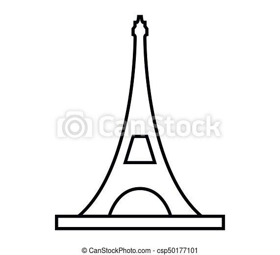 wieża, eiffel - csp50177101