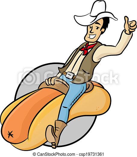 Wiener Cowboy - csp19731361