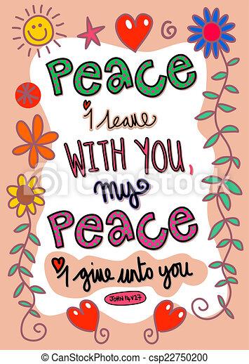Wiersz Biblia Sztuka Ty 14 Dawać Mówi Pokój
