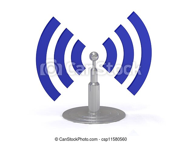 Wifi Antenne Icon - csp11580560
