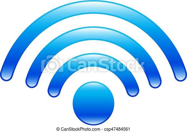 WiFi Icon - csp47484561