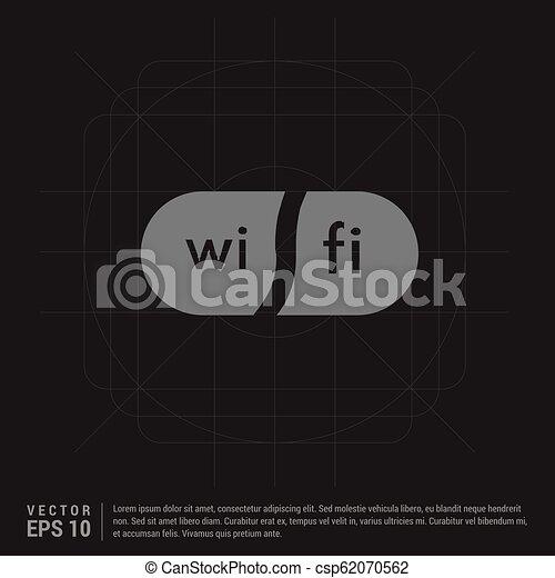 Wifi Icon - csp62070562