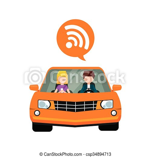 wifi icon design - csp34894713