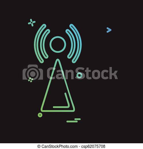 Wifi icon design vector - csp62075708