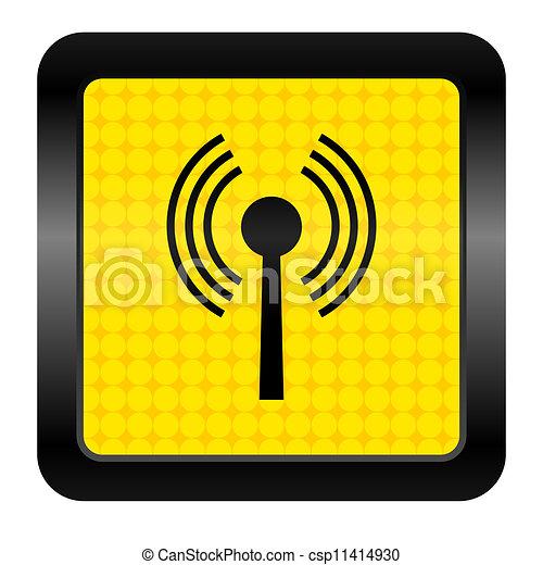 wifi icon - csp11414930