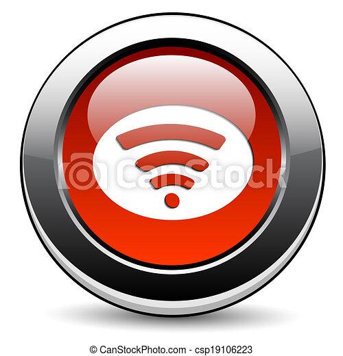 Wifi icon - csp19106223