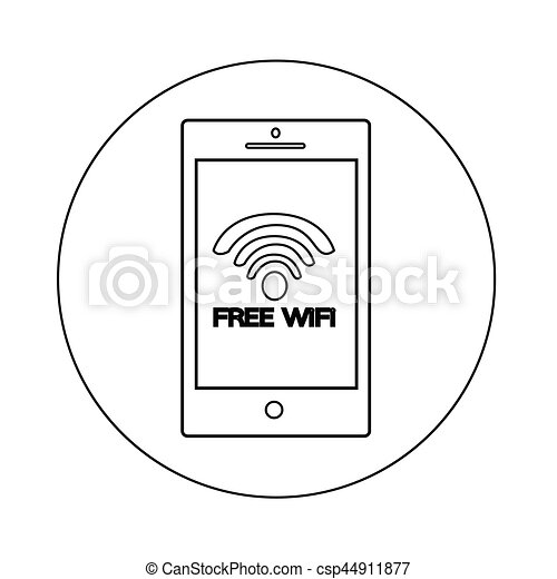 wifi icon - csp44911877