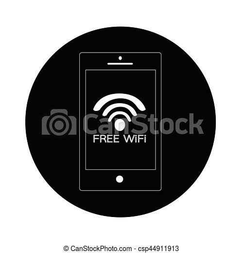 wifi icon - csp44911913