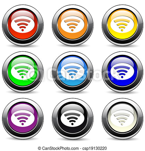 Wifi icons - csp19130220