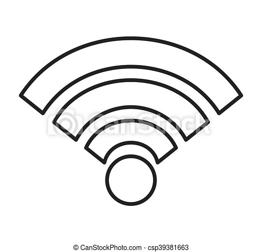 How To Draw Wifi Icon