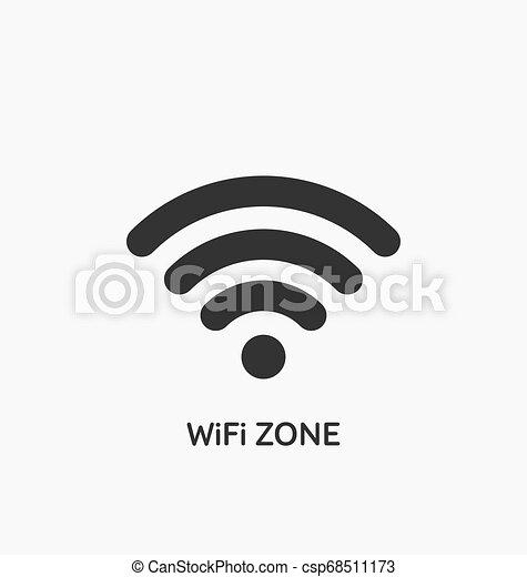Wifi zone icon - csp68511173