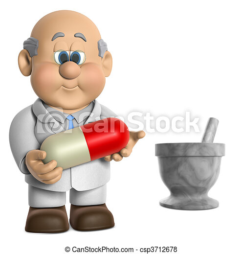 Pharmacist Wifred - csp3712678