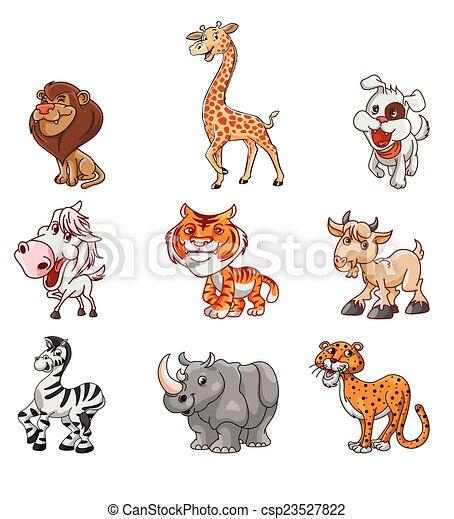Wild Animal Set - csp23527822