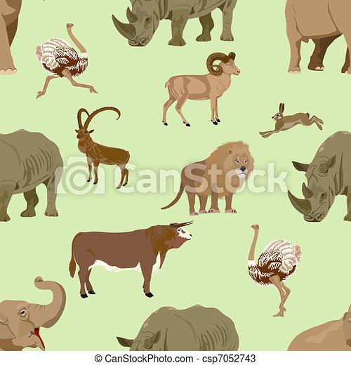 Wild animals - csp7052743